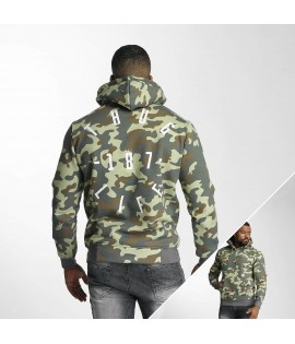 Sweat Capuche Thug Life Stamp Camouflage