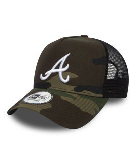 Casquette Trucker New Era Atlanta Braves Essential Trucker Camouflage