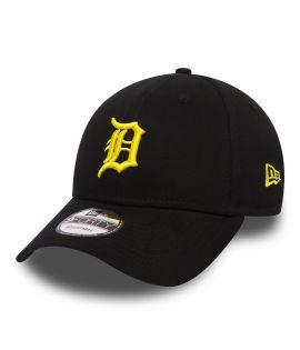 Casquette Incurvée New Era Detroit Tigers 9Forty Noir