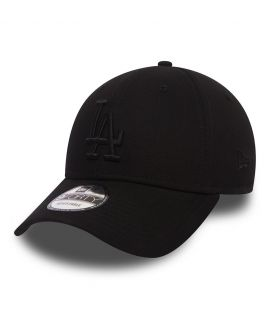 Casquette Incurvée New Era Los Angeles Dodgers Noir Full Black 940