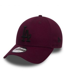 Casquette Incurvée New Era Los Angeles Dodgers Bordeaux