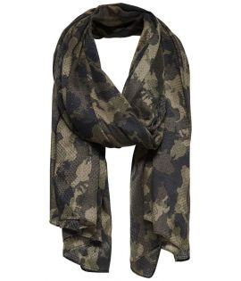 Chèche Only Brittany Camo Scarf Wood Camo