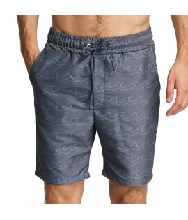 Short de bain Just Rhyse Salton City Anthracite