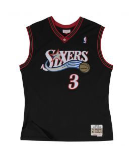 Maillot Basketball Mitchell & Ness Sixers HWC Swingman Allen Iverson