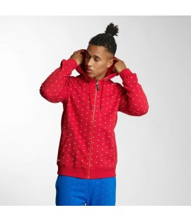 Sweat zippé Capuche Ecko Unltd. Bobby Basic Rouge