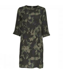 Robe Only Laura 7/8 Short Dress Camouflage
