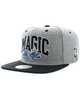 Casquette Snapback Mitchell & Ness Orlando Magic Gris