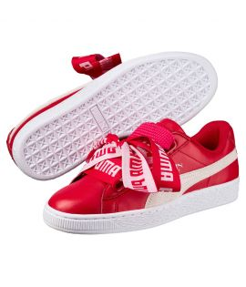 Chaussures Puma Basket Heart DE Rouge Do You