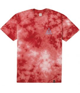 T-shirt HUF Washed Triple Triangle Tee Corail