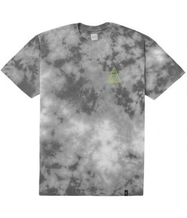 T-shirt HUF Washed Triple Triangle Tee Gris