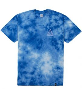 T-shirt HUF Washed Triple Triangle Tee Bleu