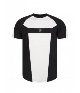 T-shirt Unkut Break Noir Blanc