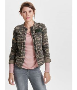Veste Denim Only Austin Badge Jacket Camouflage