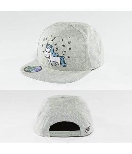 Casquette Snapback Just Rhyse janesville Gris