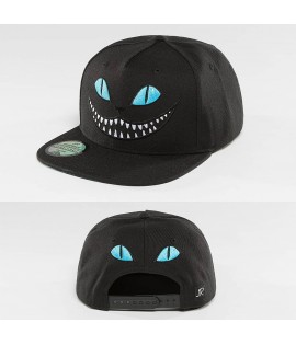 Casquette Snapback Just Rhyse Grinning Cat Bleu
