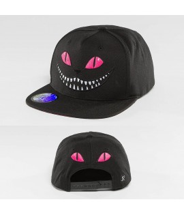 Casquette Snapback Just Rhyse Grinning Cat Rose