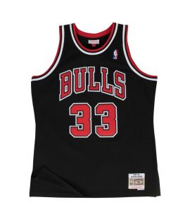 Maillot Basketball Mitchell & Ness Chicago Bulls HWC Swingman Scottie Pippen Noir