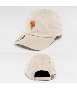 Casquette incurvée Just Rhyse Popsicle Daddy Beige