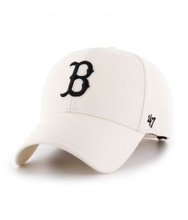 Casquette 47 Brand Boston Red Sox MVP SP Natural Blanc