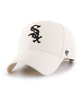 Casquette 47 Brand Chicago White Sox MVP SP Natural Blanc
