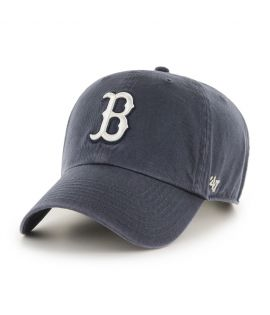 Casquette 47 Brand Boston Red Sox Clean Up Bleu Marine Vintage