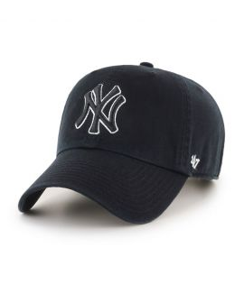 Casquette 47 Brand New York Yankees Clean Up Noir Blanc