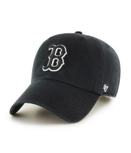 Casquette 47 Brand Boston Red Sox Clean Up Noir Blanc