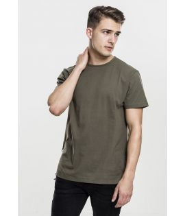 T-shirt Long Urban Classics Olive Lacage