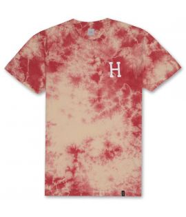 T-shirt HUF Classic H Crystal Wash Tee Corail