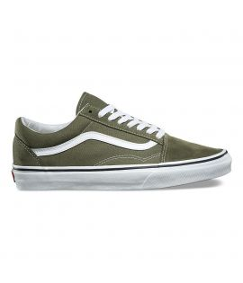 Chaussures Vans Old Skool Winter Moss Olive Blanc