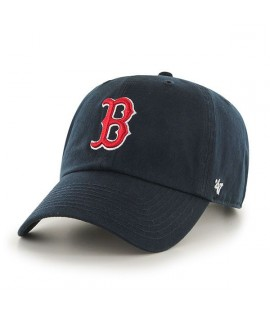 Casquette 47 Brand Boston Red Sox Vintage Clean Up Bleu