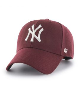 Casquette 47 Brand New York Yankees MVP SP Bordeaux
