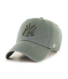 Casquette 47 Brand New York Yankees Clean Up Vintage Olive