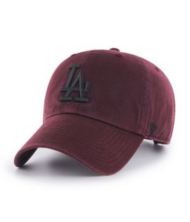 Casquette 47 Brand Los Angeles Dodgers Clean Up Bordeaux