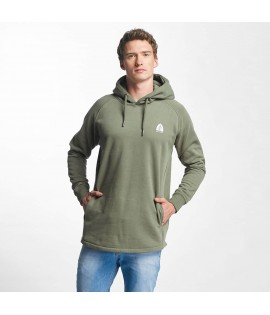 Sweat Capuche Just Rhyse Long Olive