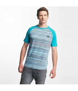 T-shirt Manches longues Just Rhyse Los Osos Turquoise