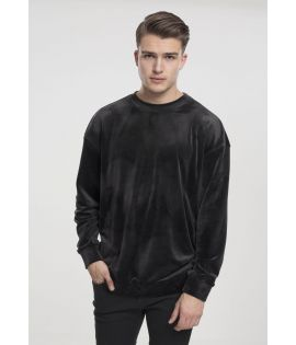 Sweat Velours Urban Classics Crewneck Noir