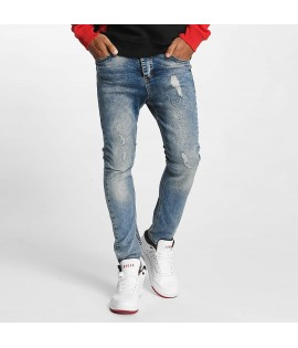Jeans Who Shot Ya? Isle Antifit Medium Bleu
