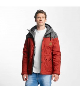 Veste Just Rhyse Warin Rouge/Gris