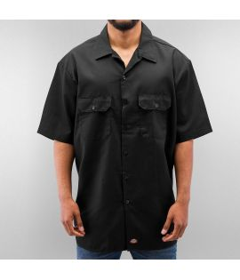Chemise Dickies Noir Manches Courtes Work 1574