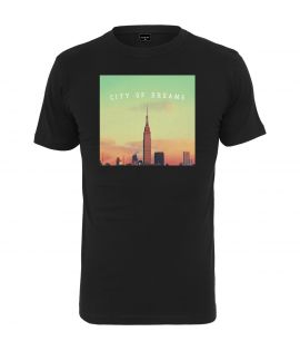 T-shirt Mister tee City of Dreams Noir