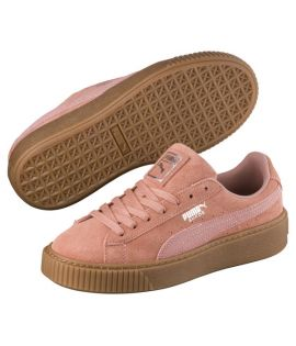 Chaussures Puma Suede Platform Animal Rose