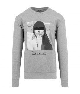 Sweat Mister Tee F?KIT Gris
