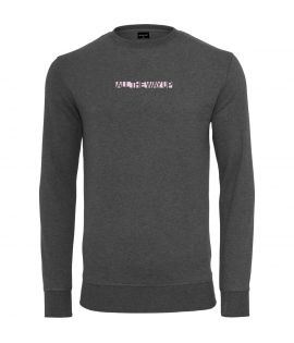 Sweat Mister Tee All The Way Up Logo Crewneck Gris Foncé
