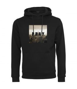 Sweat Capuche Mister Tee Pray City Hoody Noir