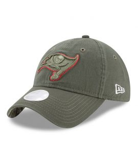 Casquette Incurvée Femme New Era Tampa Bay Buccaneers 9Twenty Olive Salute To Service