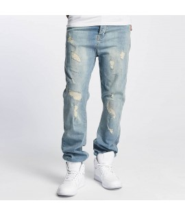 Jeans Who Shot Ya? / Antifit Used Bleu