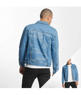 Veste en jean Cyprime / Lightweight Mother of Pearl Bleu claire