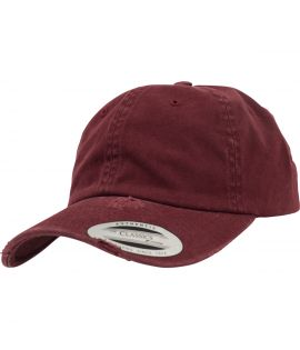 Casquette Incurvée Flexfit Low Profile Destroyed Marron