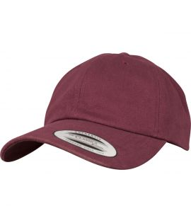 Casquette Incurvée Flexfit Low Profile Peached Cotton Twill Marron